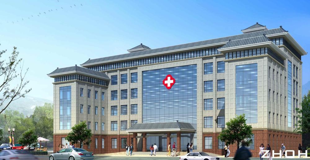 医院门诊楼装修改造工程动工